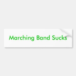 Marching Band Sucks Bumper Sticker