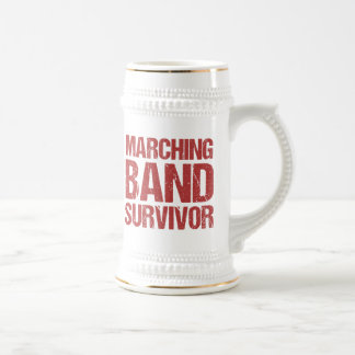 Marching Band Survivor Beer Stein