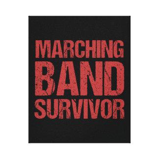 Marching Band Survivor Canvas Print