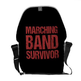 Marching Band Survivor Messenger Bag