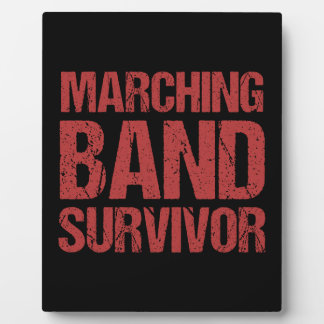 Marching Band Survivor Plaque