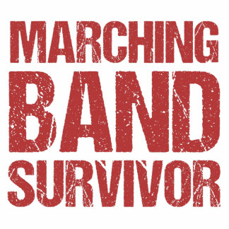 Marching Band Survivor Standing Photo Sculpture