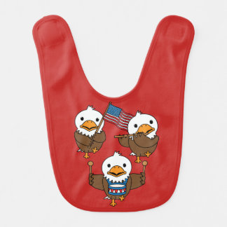 Marching Eagles Bib