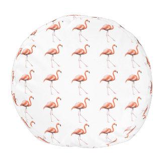 Marching Flamingos Pouf