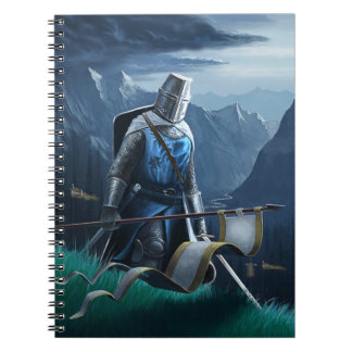 Marching Knight notebook