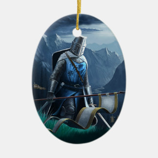 Marching Knight ornament