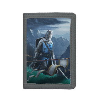 Marching Knight TriFold Nylon Wallet