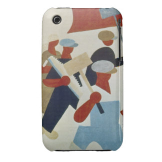 Marching Protestors iPhone 3 Case-Mate Cases