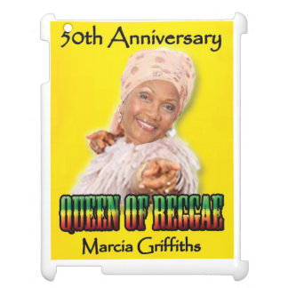 Marcia Griffiths the Reggae Queen-50th Anniversary iPad Cover