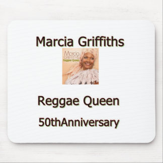 Marcia Griffiths the Reggae Queen-50th Anniversary Mouse Pad