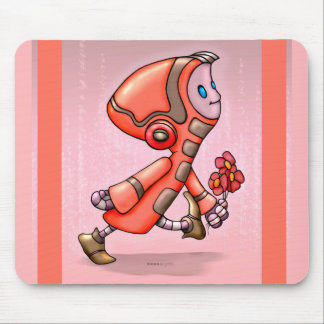 MARCO CUTE ROBOT CARTOON MOUSE PAD