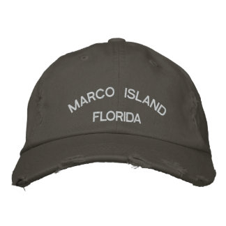 Marco Island Embroidered Hat