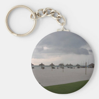 Marco Island, FL Basic Round Button Key Ring
