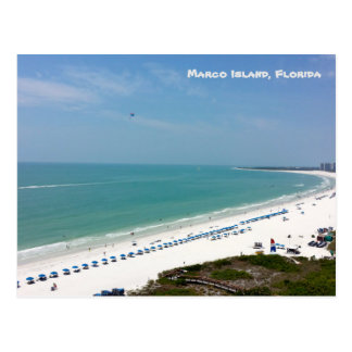 Marco Island Florida Beach Gulf Of Mexico Postcard