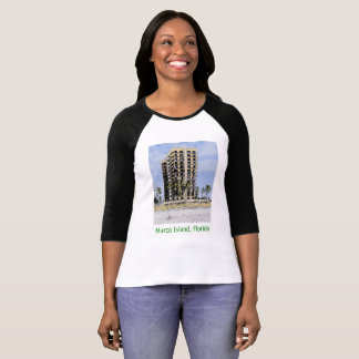 Marco Island, Florida Condo with Palms Women's T-Shirt