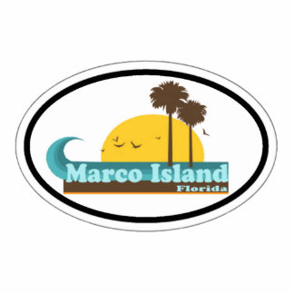 Marco Island. Photo Sculpture Magnet