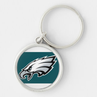Marco Marco Island Eagles Under 12 Silver-Colored Round Key Ring