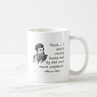 Marco Polo by the Pool Funny Mug