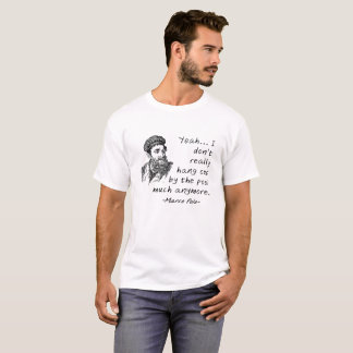 Marco Polo by the Pool Funny Tshirt