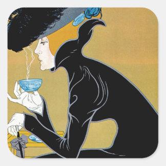 Marco Polo Tea Square Sticker
