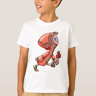 MARCO ROBOT CARTOON HANES TAGLESS SHIRT KID
