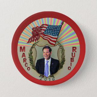 Marco Rubio 2016 7.5 Cm Round Badge