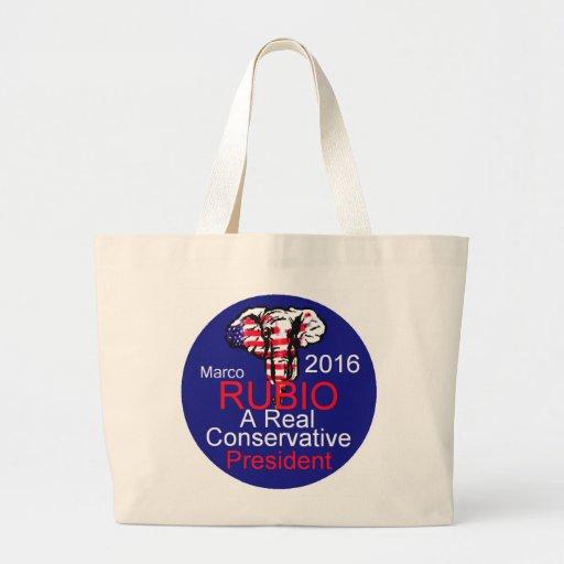 Marco RUBIO 2016 Tote Bags
