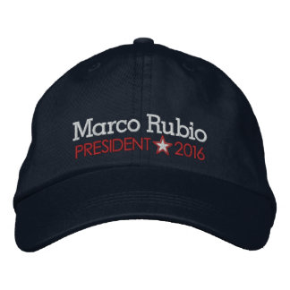Marco Rubio 2016 Embroidered Hat