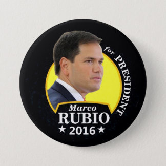 Marco Rubio 2016 for President 7.5 Cm Round Badge
