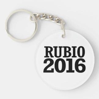 Marco Rubio 2016 Single-Sided Round Acrylic Key Ring