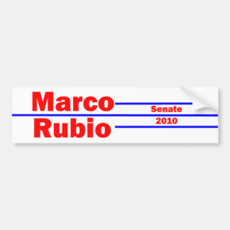 Marco Rubio 4 Bumper Sticker
