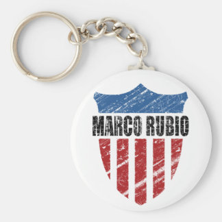 Marco Rubio Basic Round Button Key Ring