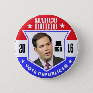 Marco Rubio for President 2016 6 Cm Round Badge