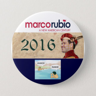 Marco Rubio for President 2016 7.5 Cm Round Badge