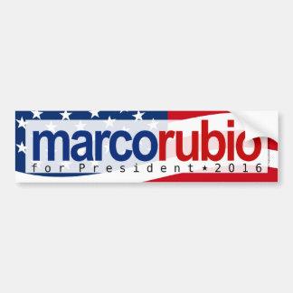 Marco Rubio for President 2016 Bumper Sticker
