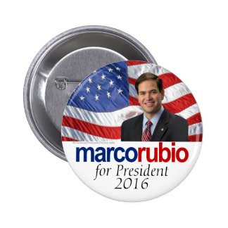 Marco Rubio for President 2016 Button