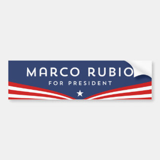 Marco Rubio for President Bumper Sticker
