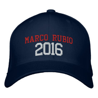 Marco Rubio President 2016 Embroidered Hat