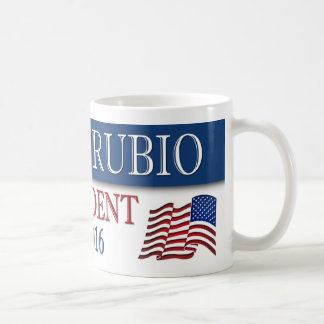 Marco Rubio President 2016 USA Flag Coffee Mug