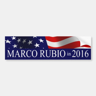 Marco Rubio President in 2016 Bumper Sticker