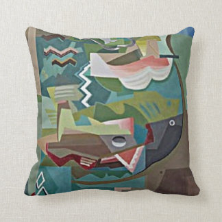 Marcoussis: La Table artwork Cushion