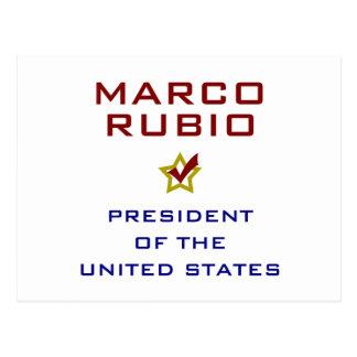 Marcp Rubio President USA V2 Post Cards