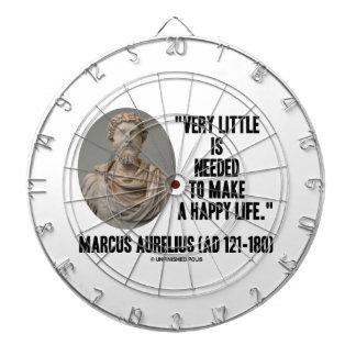 Marcus Aurelius Little Is Needed Make Happy Life Dart Boards