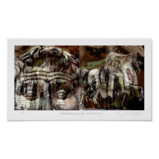 Marcus Aurelius / Second Stage / Equestrian Series Poster