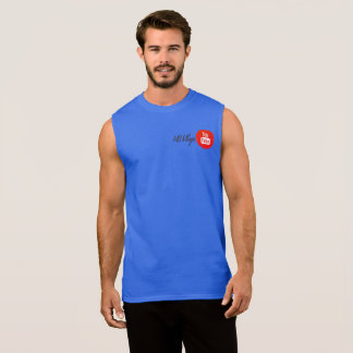 MARCUS BASS YOUTUBE MERCH SLEEVELESS SHIRT
