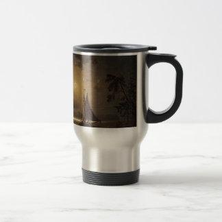 Marcus Larson nocturnal-voyage moon night vintage. Coffee Mug