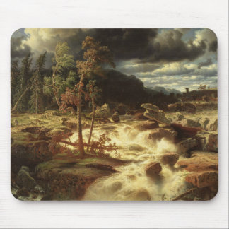 Marcus Larson - Waterfall in Smaland Mouse Pad