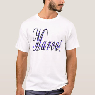 Marcus Name Logo, T-Shirt