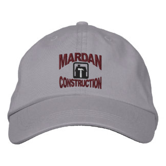 Mardan Construction Embroidered Cap