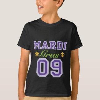 Mardi Gras 09 Kids Dark T shirt